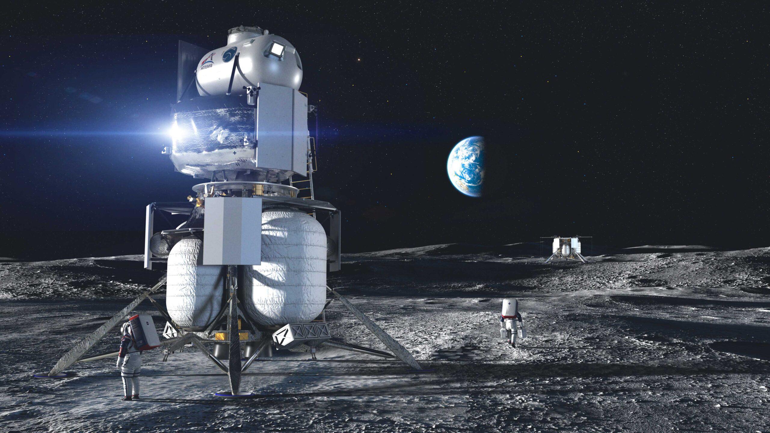NASA выбрало компании, которые создадут корабли для лунных миссий.Вокруг Света. Украина