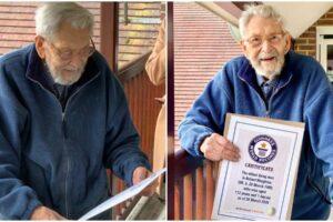 В Великобритании  умер  самый старый мужчина в мире