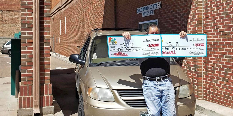 Мужчина дважды выиграл в лотерею по миллиону долларов за один день.Вокруг Света. Украина