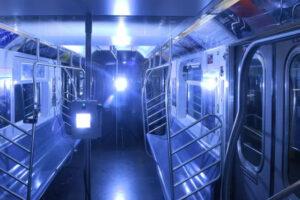 В общественном транспорте Нью-Йорка коронавирус будут убиватьультрафиолетом