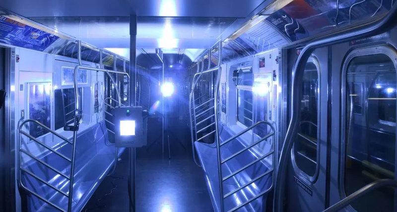 В общественном транспорте Нью-Йорка коронавирус будут убиватьультрафиолетом.Вокруг Света. Украина