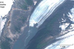 Таяние ледника на Аляске может спровоцировать катастрофическое цунами