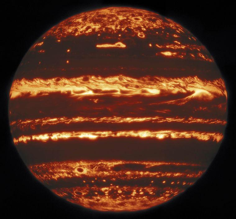 Самый качественный снимок Юпитера в истории.Вокруг Света. Украина