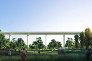Новый «парящий мост» в Генуе скоро откроют