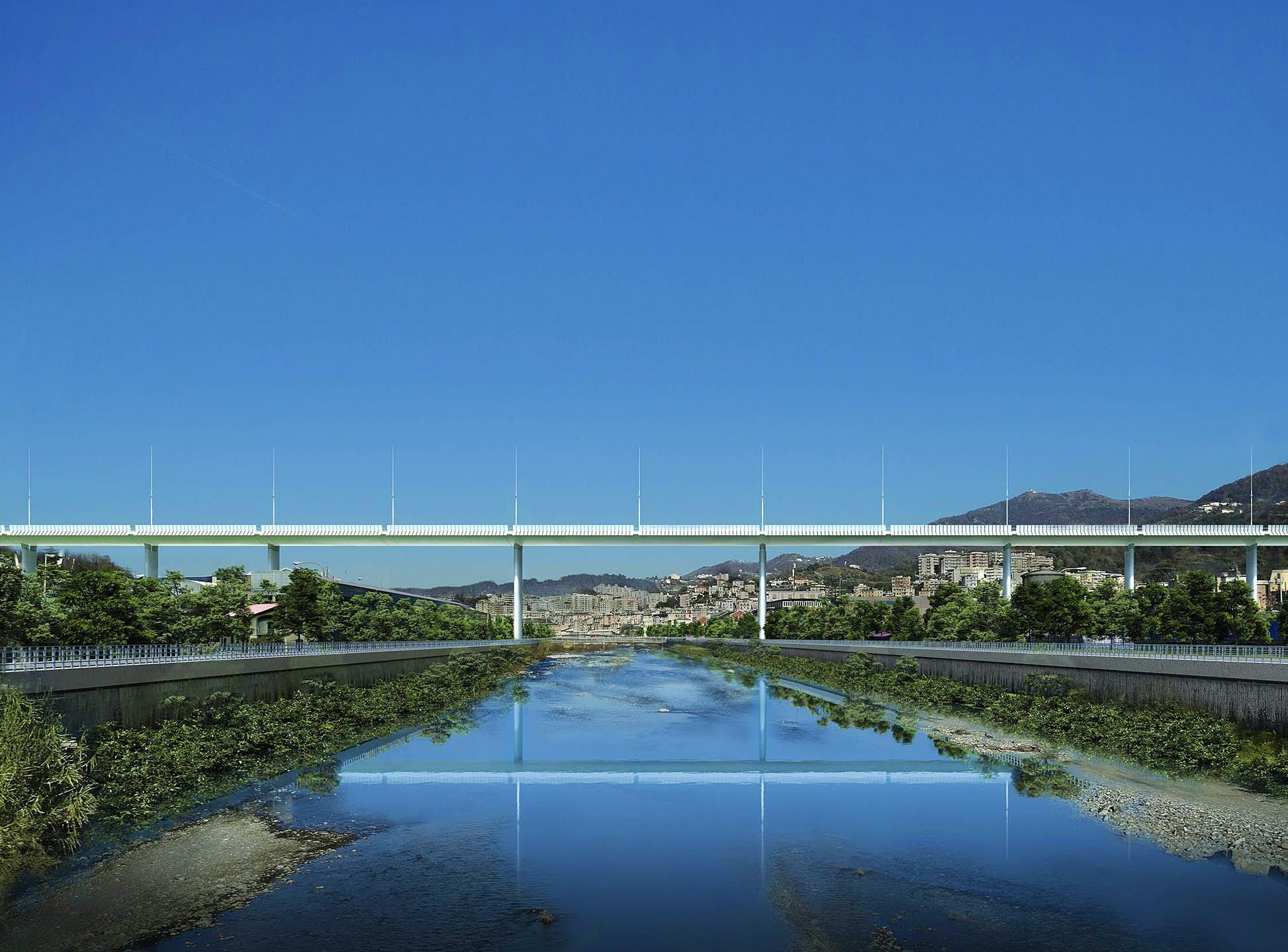 мост в генуе