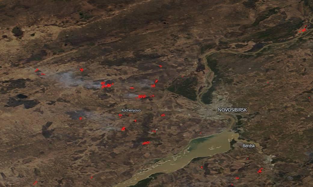 В Сибири снова начались масштабные лесные пожары.Вокруг Света. Украина