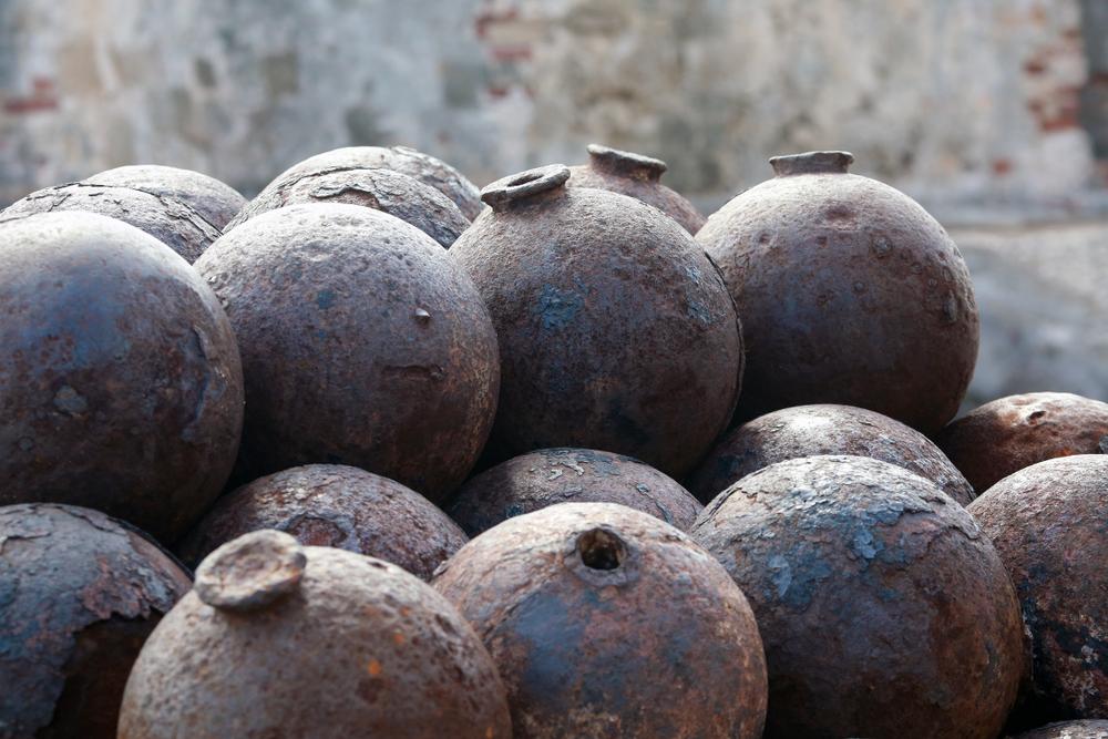 В Одесской области под домом нашли 200-летнее пушечное ядро