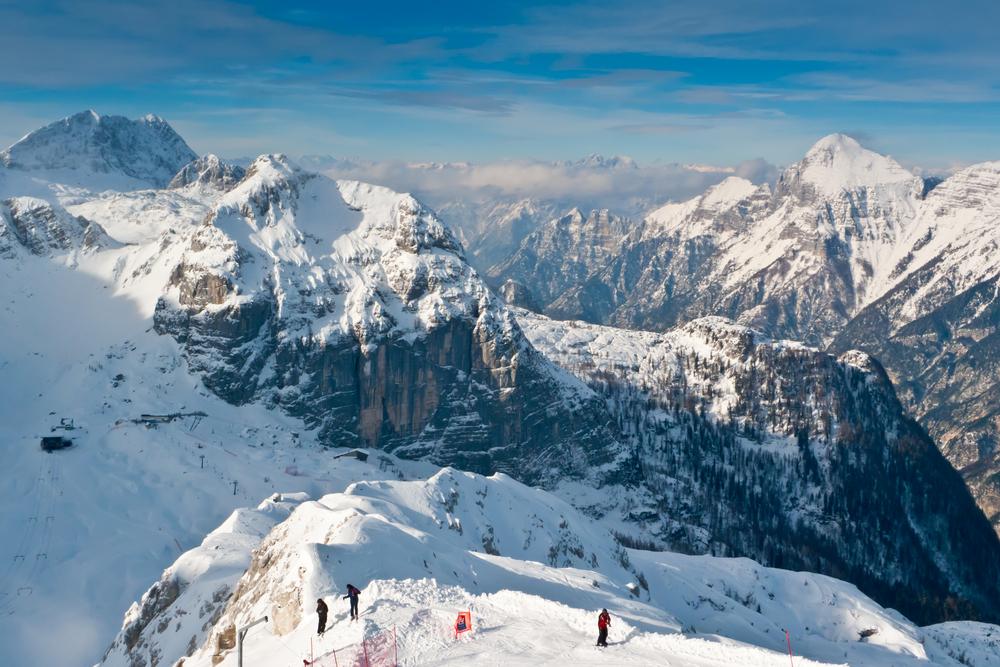 На словенский курорт Канин вернулись лыжники