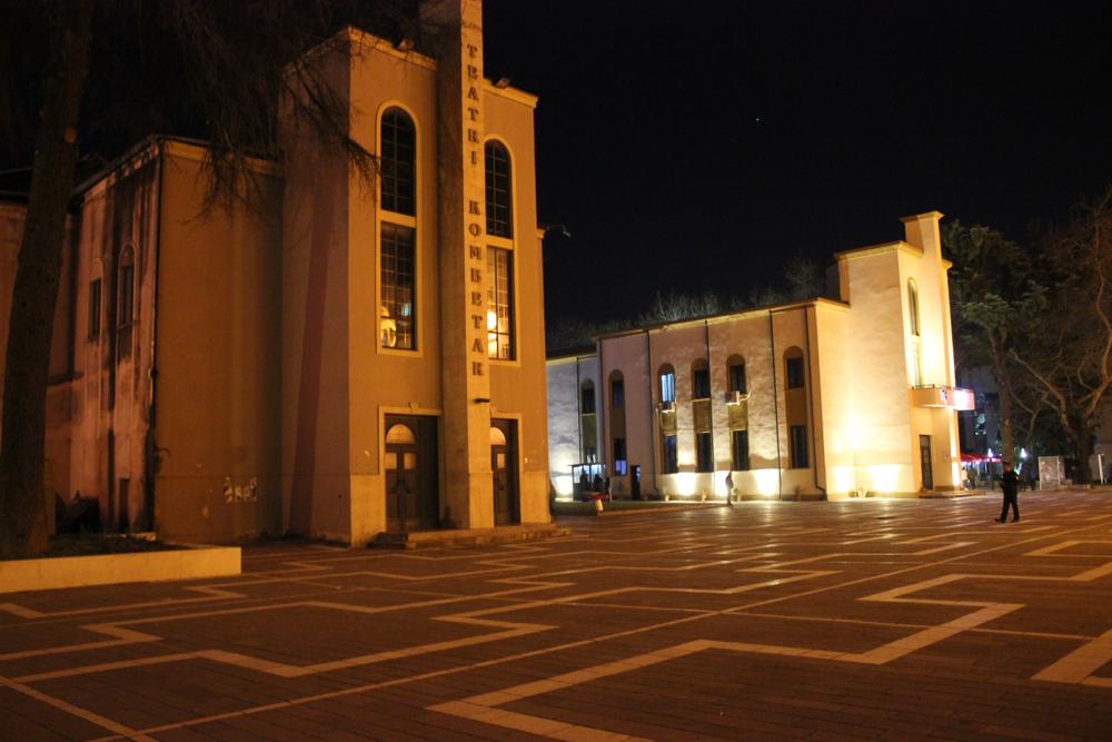В столице Албании сносят здание Национального театра: массовые протесты