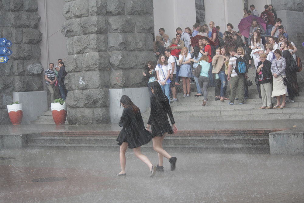 Сколько будут идти дожди в Украине.Вокруг Света. Украина