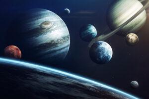 Солнечная система могла сформироваться в результате столкновения галактик