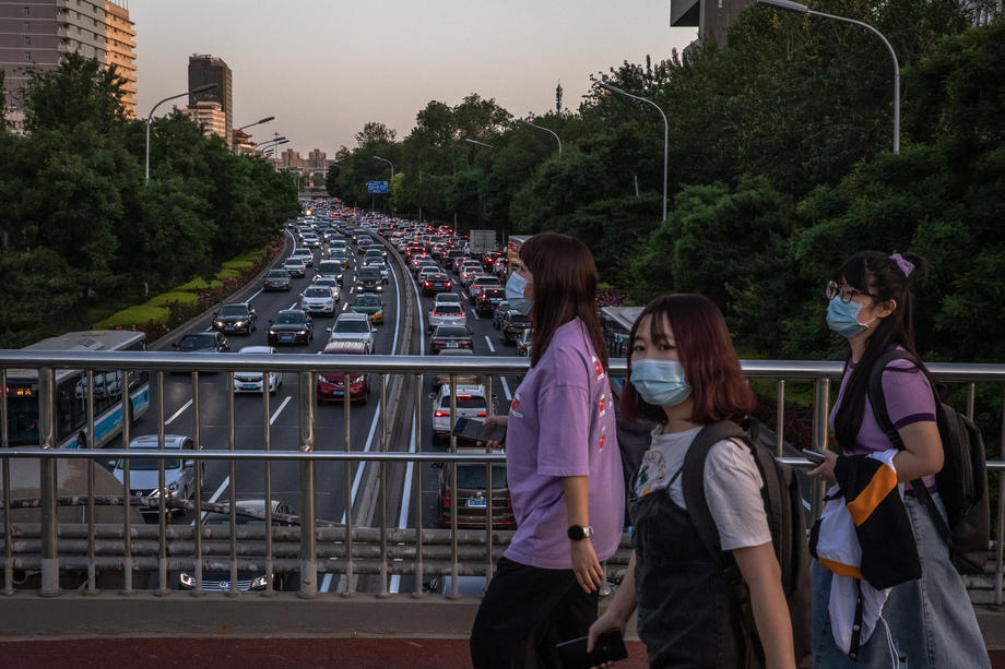 В Китае впервые за полгода зафиксировано загрязнение воздуха