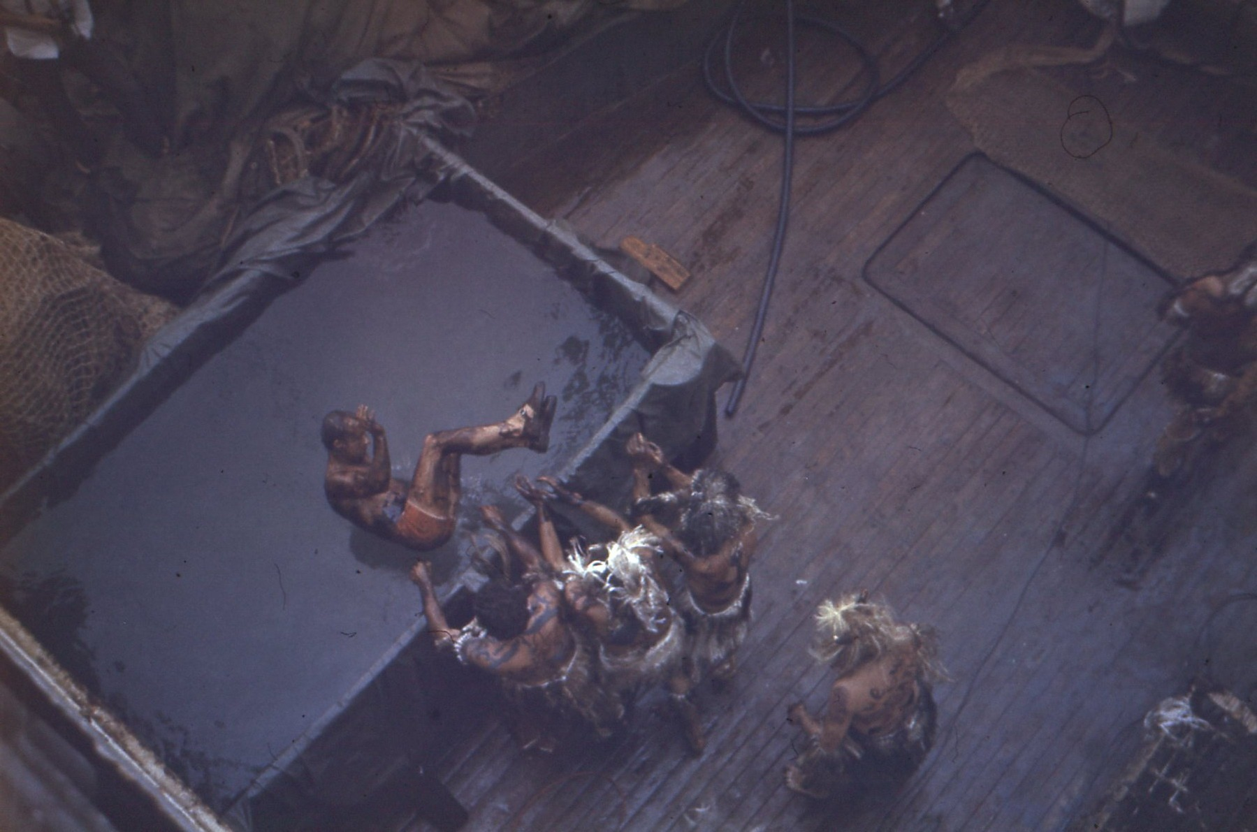 праздник на корабле