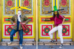 Парижская галерея вводит моду на антивирусные шляпы