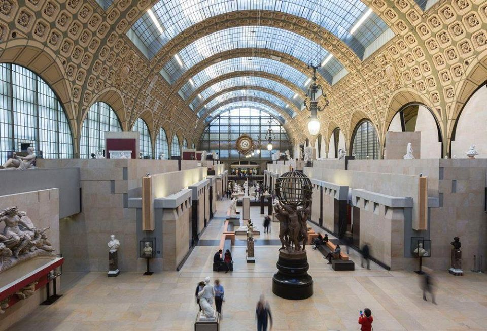 На открытии парижского Музея д'Орсе наблюдался ажиотаж