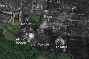 Ученые впервые картографировали древнеримский город с помощью георадара