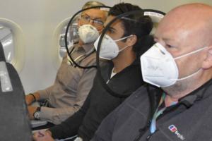 Сможет ли британское изобретение защитить от вирусов в салоне самолета?