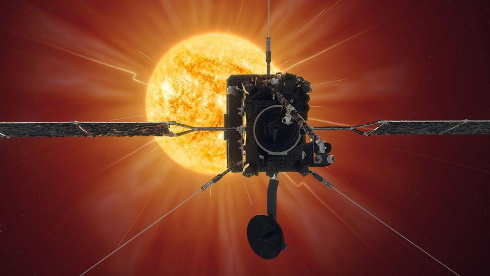 Зонд Solar Orbiter совершил первый близкий подход к Солнцу