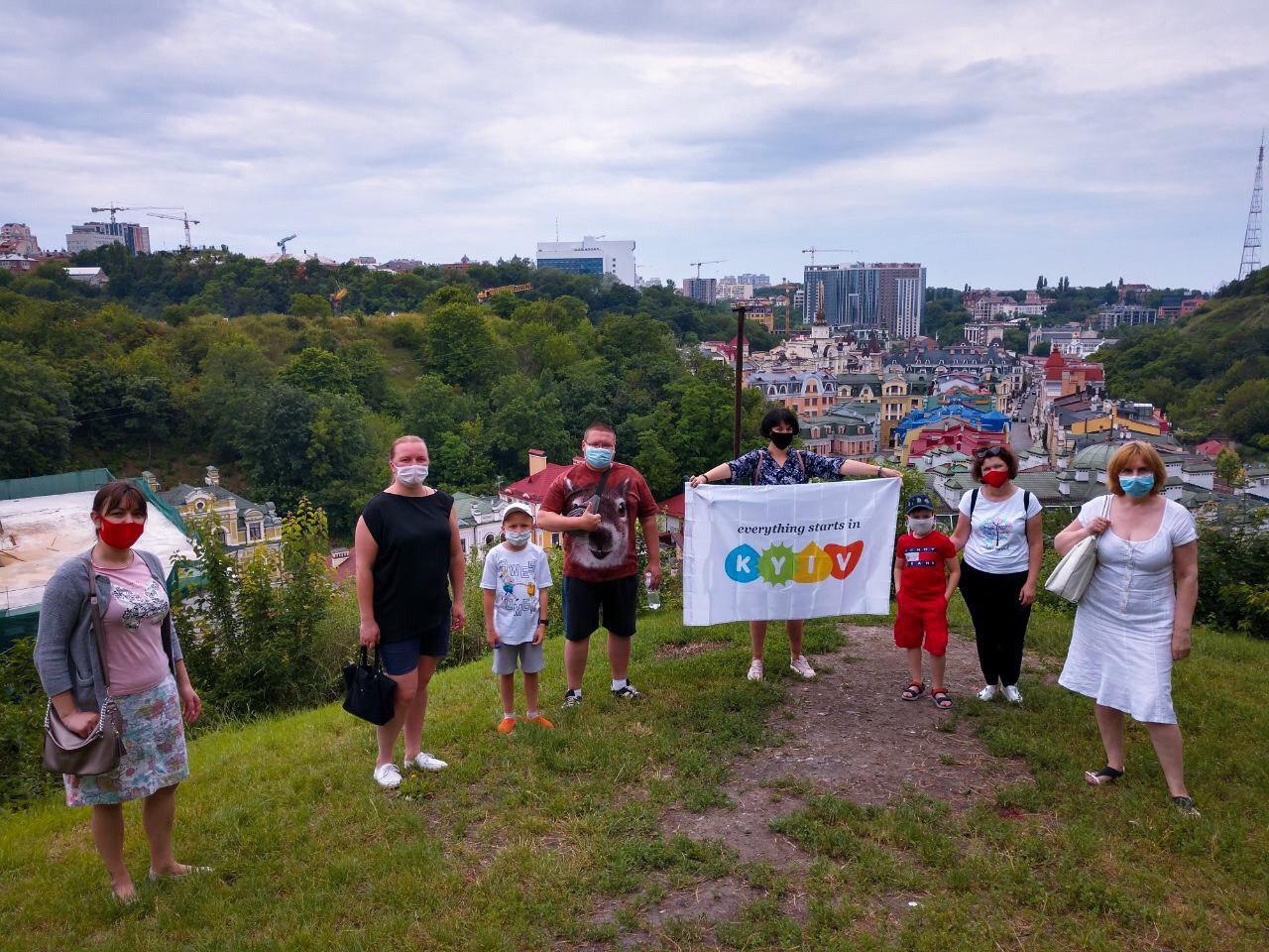 В Киеве запустили бесплатные пешеходные экскурсии
