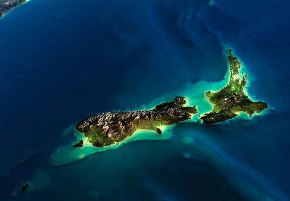 Новые карты пролили свет на затерянный континент Зеаландию