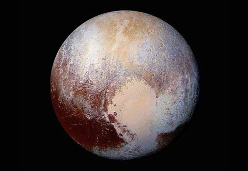 Холодный карликовый Плутон был когда-то теплым