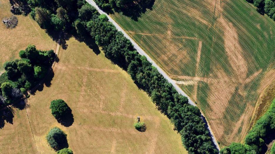 Засуха в Уэльсе обнажила 200 неизвестных древнеримских объектов