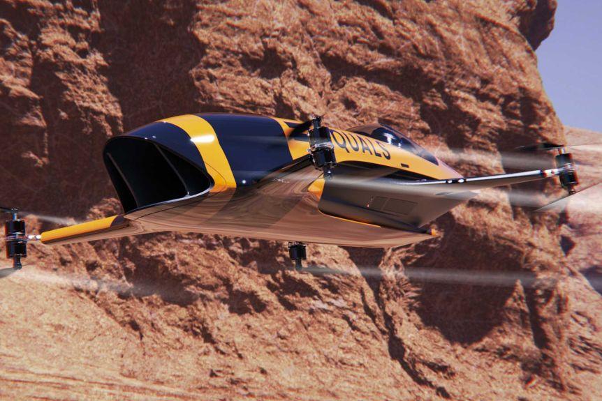 В Австралии в конце 2020 состоятся гонки на летающих машинах