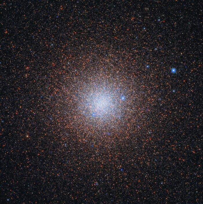 Хаббл запечатлел одно из самых крупных звездных скоплений в Галактике