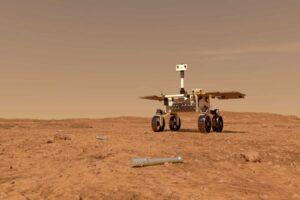 Новый ровер ESA соберет на Марсе пробирки с породами