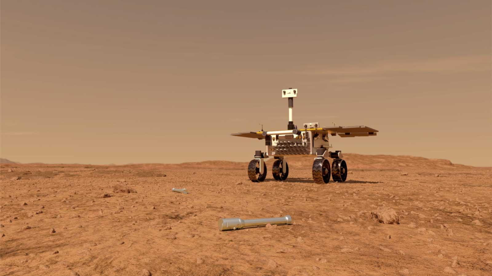 Новый ровер ESA соберет на Марсе пробирки с породами.Вокруг Света. Украина