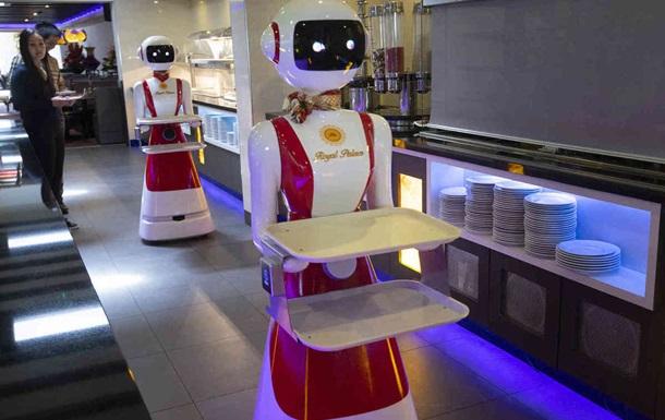 В Нидерландах открыли ресторан с официантами-роботами
