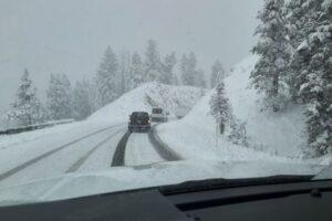 В США в середине июня прошли сильные снегопады