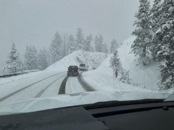 В США в середине июня прошли сильные снегопады.Вокруг Света. Украина