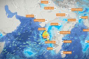 На Мумбаи надвигается первый за 70 лет шторм