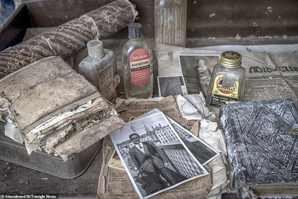 Шкатулка древностей: заброшенный дом в Северной Ирландии сохранил обстановку вековой давности