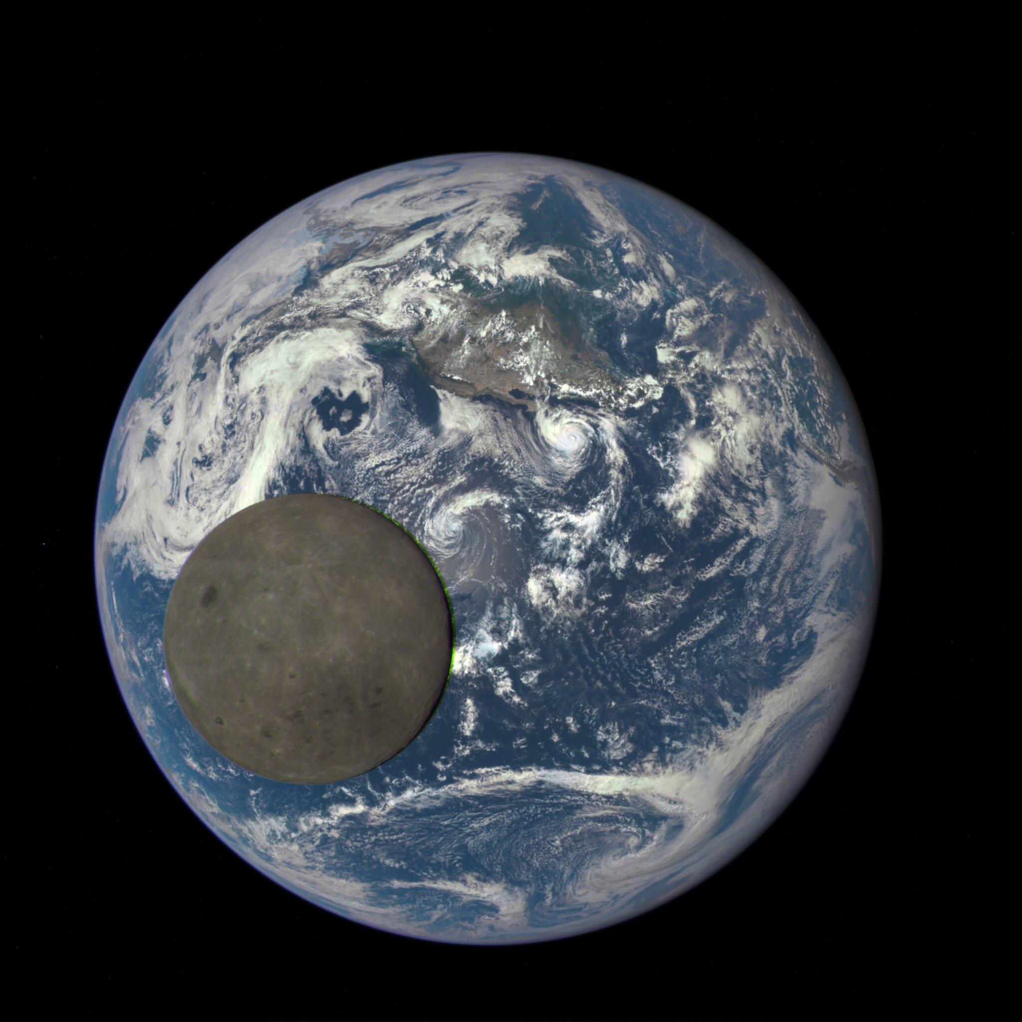 Почему две стороны Луны такие разные: новое исследование.Вокруг Света. Украина
