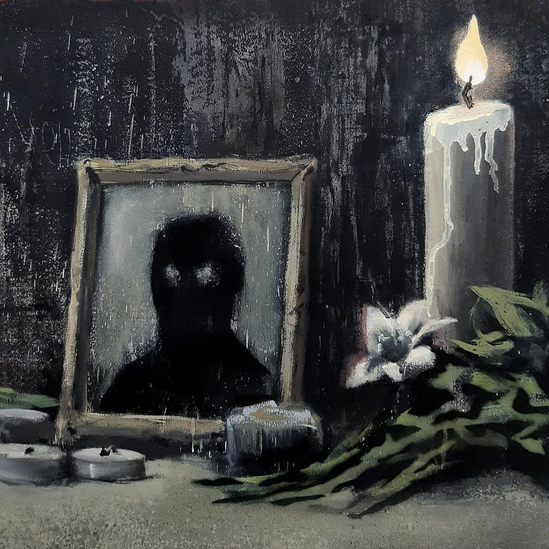 Бэнкси посвятил новую картину протестам в США.Вокруг Света. Украина