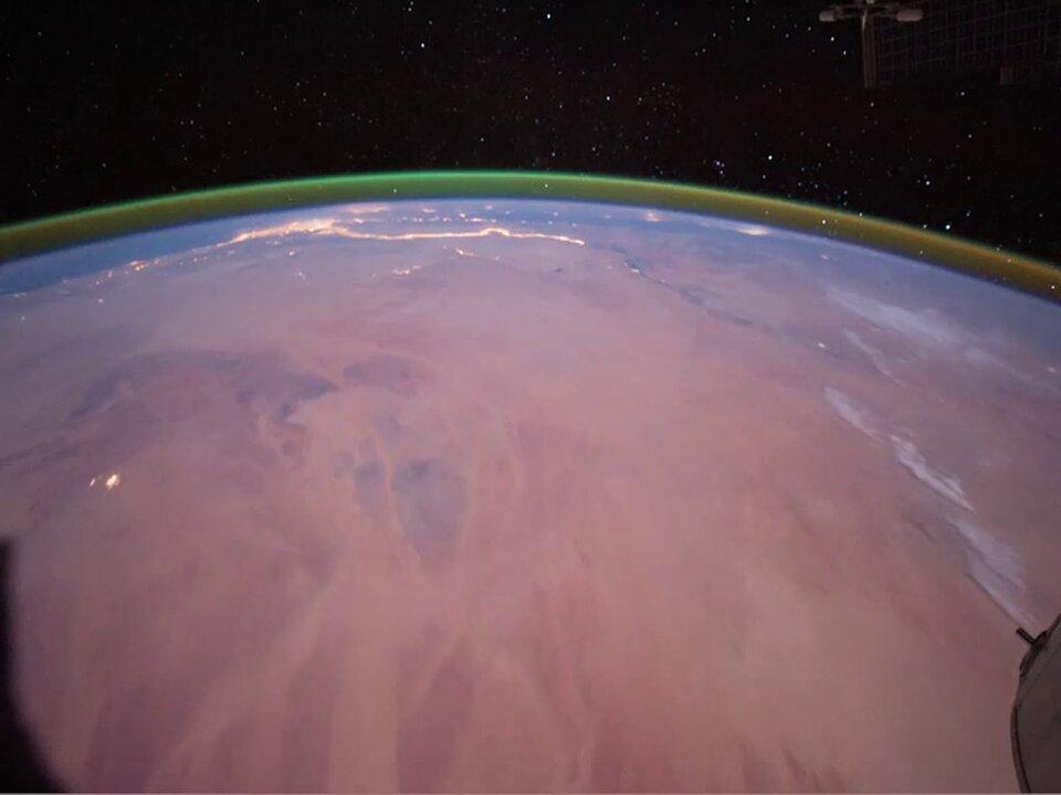 На Красной планете обнаружили зеленое свечение.Вокруг Света. Украина