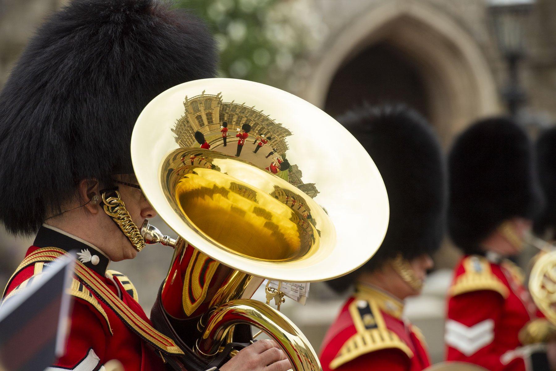 Без семьи и подданных: в Лондоне состоялся скромный королевский парад.Вокруг Света. Украина