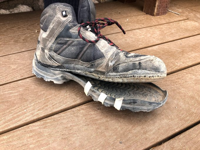В Гранд-Каньоне так жарко, что может расплавиться обувь