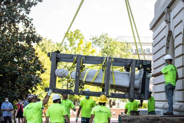 В США при сносе памятника нашли бурбон 1936 года