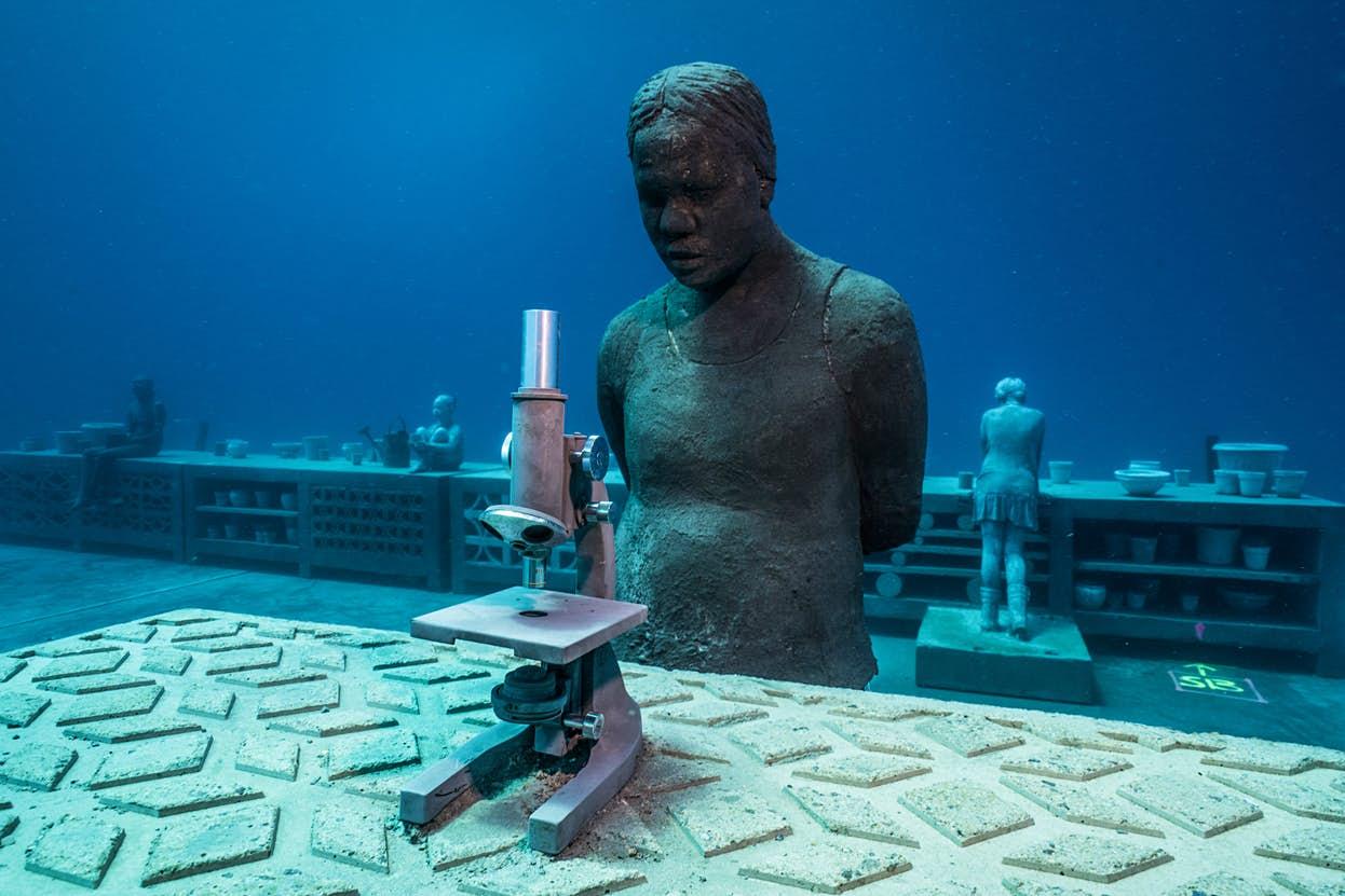музей подводного искусства
