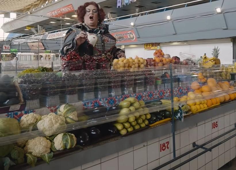 Киевская опера выступила на продуктовом рынке