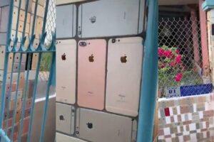 Вьетнамец построил забор из iPhone