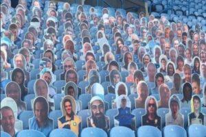 Усама бин Ладен «пришел» поддержать английских футболистов