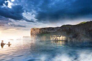 В Исландии появится новая достопримечательность - геотермальная лагуна