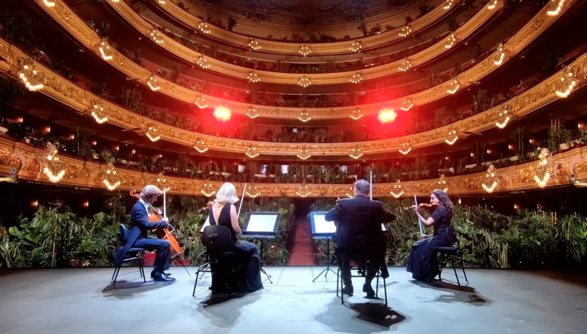 Барселонская опера дала концерт для 3000 растений (видео).Вокруг Света. Украина