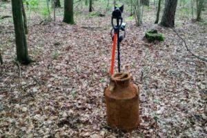 Во Львовской области нашли два бидона с документами 70-летней давности