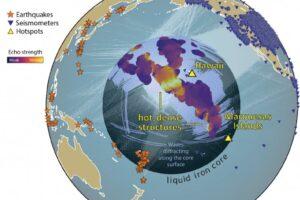 Глубоко под поверхностью Земли обнаружили структуру из горячей и плотной породы