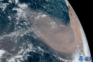 Облако пыли из Сахары сделает рассветы и закаты в США зрелищнее